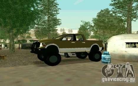 Dodge Ram 4x4 для GTA San Andreas вид справа