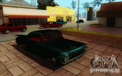 ENB HD CUDA v.2.5 for SAMP для GTA San Andreas десятый скриншот