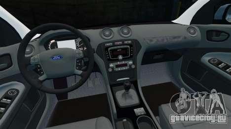 Ford Mondeo Estate Police Dog Unit [ELS] для GTA 4 вид сверху
