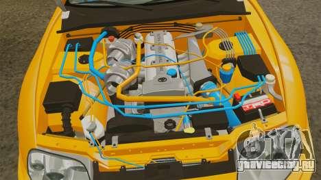 Toyota Supra RZ 1998 (Mark IV) Bomex kit для GTA 4 вид сзади