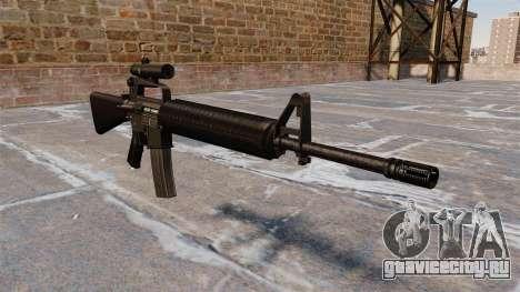 Автоматическая винтовка M16A2 для GTA 4