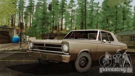 Plymouth Belvedere 2-door Sedan 1965 для GTA San Andreas вид слева