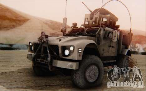 Oshkosh M-ATV для GTA San Andreas