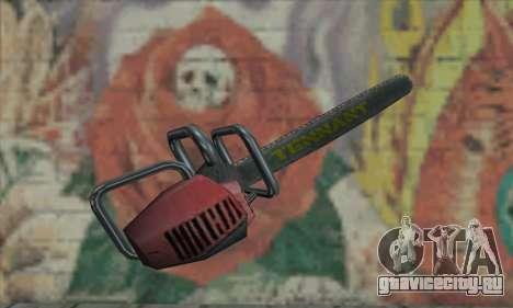 Manhunt Kettensäge для GTA San Andreas второй скриншот