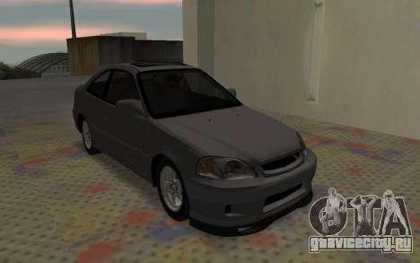 Honda Civic JDM для GTA San Andreas вид справа