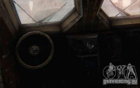 Oshkosh M-ATV для GTA San Andreas вид сзади слева