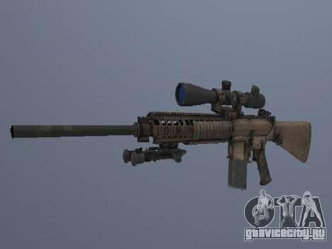 M110 для GTA San Andreas третий скриншот