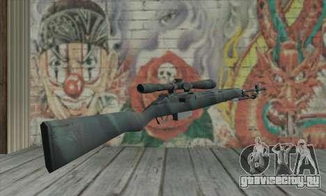 M21 из COD 4 Modern Warfare для GTA San Andreas второй скриншот