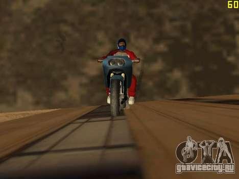 Езда по стенам и потолкам v2.0. для GTA San Andreas второй скриншот