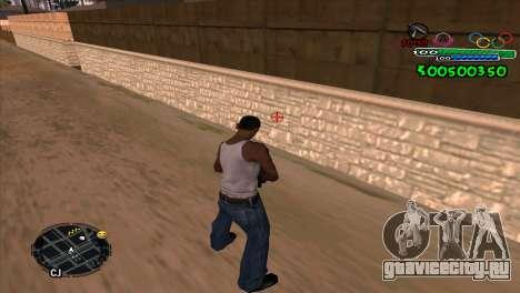 C-HUD Advance для GTA San Andreas второй скриншот