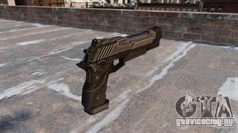 Пистолет Desert Eagle Crysis 2 для GTA 4 второй скриншот