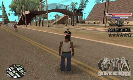C-HUD v2 для GTA San Andreas третий скриншот
