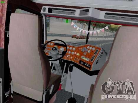 Freightliner FLD 120 для GTA San Andreas вид сзади