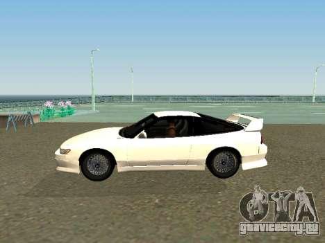 Nissan Sileighty для GTA San Andreas вид слева
