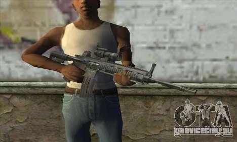 HK416 with ACOG для GTA San Andreas третий скриншот