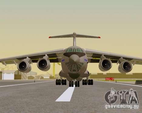 Ил-76МД-90А (Ил-476) для GTA San Andreas вид справа