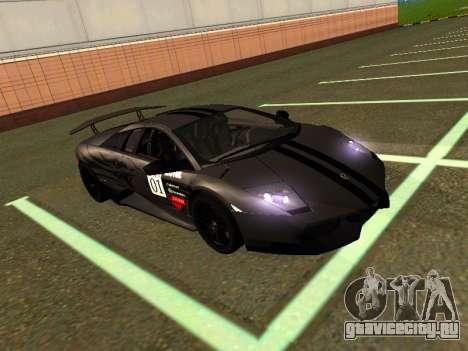 Lamborghini Murcielago LP670-4 SV Team Ravenwest для GTA San Andreas