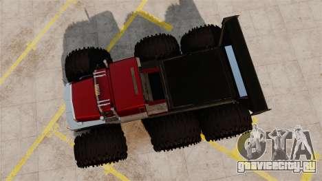 The Biggest Monster Truck для GTA 4 вид справа