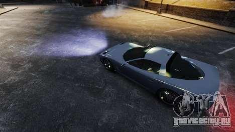 Реальный ксеноновый свет фар для GTA 4