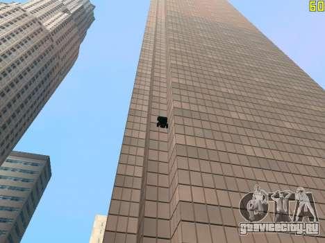 Езда по стенам и потолкам v2.0. для GTA San Andreas седьмой скриншот