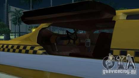 Taxi 5 Element для GTA San Andreas вид сбоку
