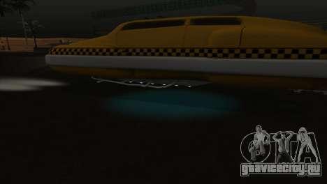 Taxi 5 Element для GTA San Andreas вид сверху