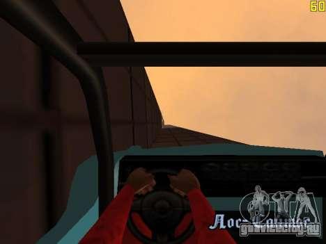 Езда по стенам и потолкам v2.0. для GTA San Andreas восьмой скриншот