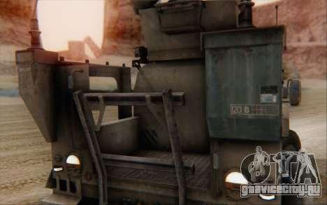 Oshkosh M-ATV для GTA San Andreas вид сзади