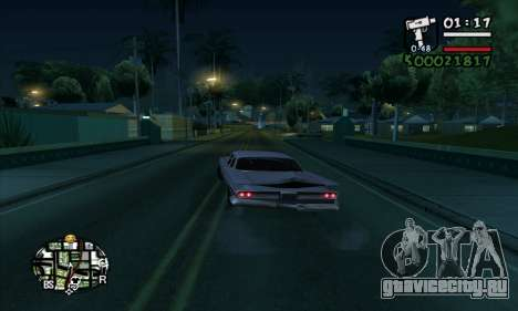 ARP C-HUD by Chrome v2 для GTA San Andreas