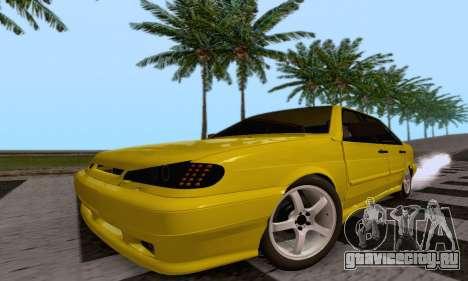 ВАЗ 2115 Diod для GTA San Andreas вид сзади