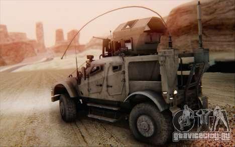 Oshkosh M-ATV для GTA San Andreas вид слева