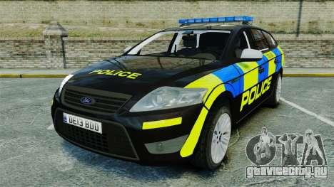 Ford Mondeo Estate Police Dog Unit [ELS] для GTA 4