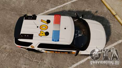 Ford Explorer 2013 LCPD [ELS] v1.5X для GTA 4 вид справа