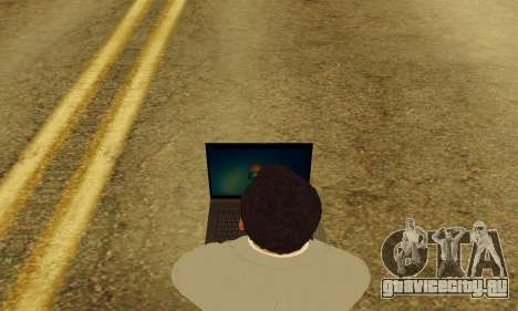 Notebook mod v1.0 для GTA San Andreas пятый скриншот