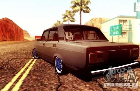 ВАЗ 2105 Stance для GTA San Andreas вид слева