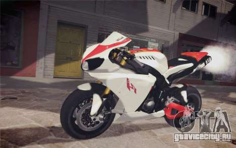 Yamaha YZF R1 для GTA San Andreas