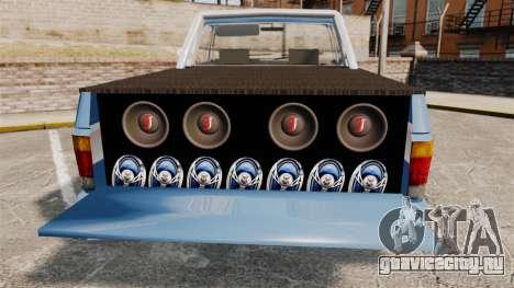 Chevrolet D-20 Custom для GTA 4 вид изнутри
