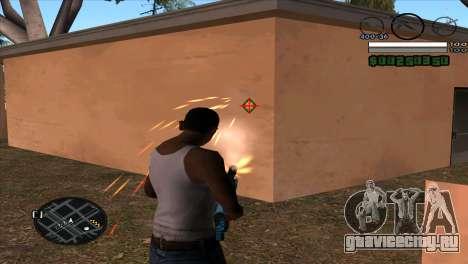 C-HUD by Djet для GTA San Andreas второй скриншот