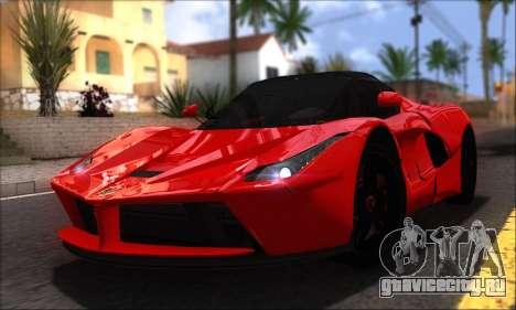 Ferrari LaFerrari v1.0 для GTA San Andreas вид справа