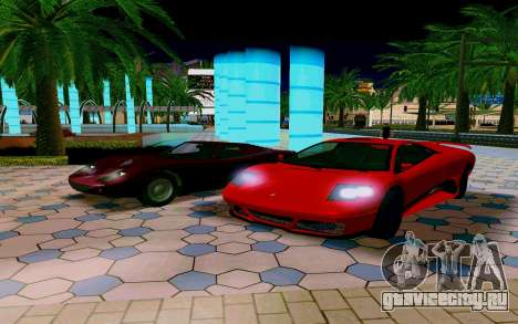 GTA V Pegassi Infernus для GTA San Andreas вид справа