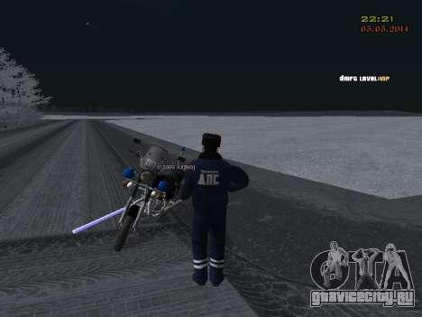 Пак ДПС в зимней форме для GTA San Andreas одинадцатый скриншот