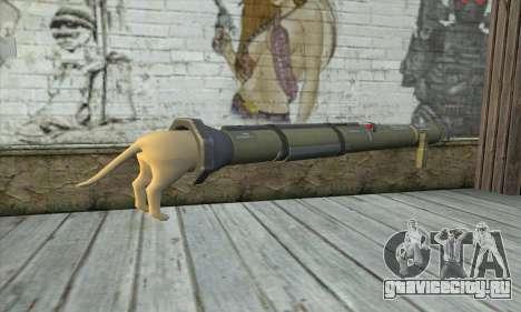 Ракетная установка из Pstal 3 для GTA San Andreas второй скриншот