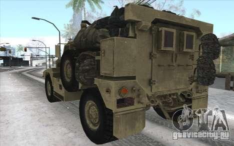 MRAP из BF4 для GTA San Andreas вид справа