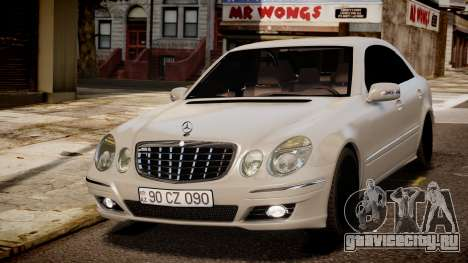 Mercedes-Benz E-Class Executive 2007 v1.1 для GTA 4
