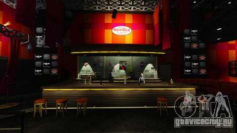Новое кафе -Hard Rock- для GTA 4 второй скриншот