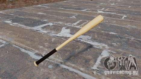 HD деревянная бейсбольная бита для GTA 4