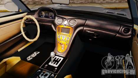 GTA V Benefactor Surano v3.0 для GTA 4 вид сзади