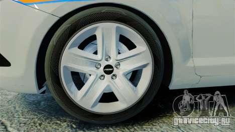 Ford Focus Metropolitan Police [ELS] для GTA 4 вид сзади