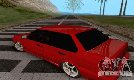 ВАЗ 2115 Diod для GTA San Andreas вид сзади слева