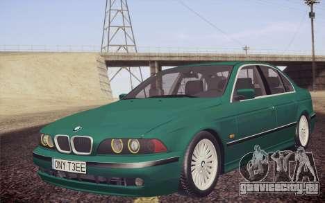 BMW M5 E39 528i Greenoxford для GTA San Andreas
